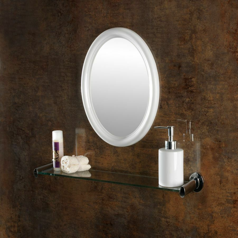 wall hanging bathroom sink home caravan motorhome mirror ebay