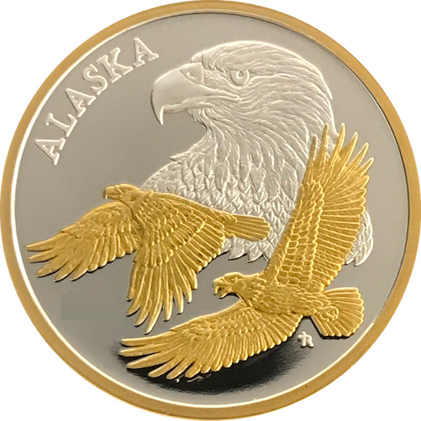 Alaska Mint Eagle 2010 Silver Medallion Proof 1oz Ebay