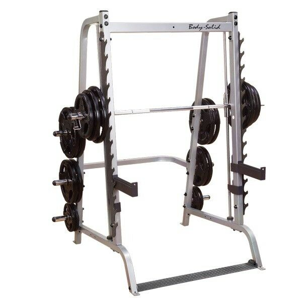 Bodysolid Gs348q Series 7 Linear Bearing Smith Machine