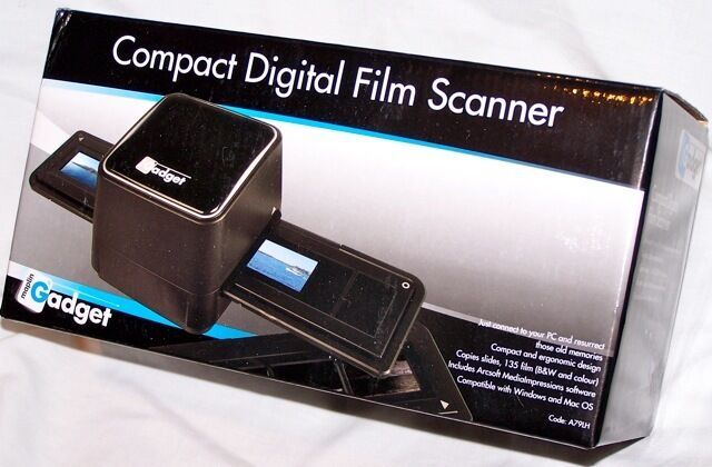 Gadget Film Slide Scanner FAULTY negative PC MAC 110 scan 35mm b&w colour  USB | eBay