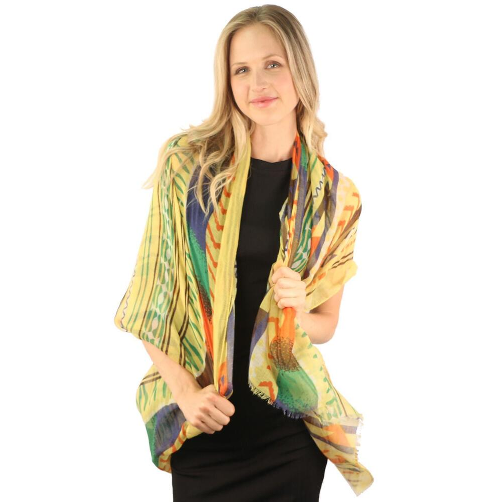 ancient paint designs print wrap shawl cover up