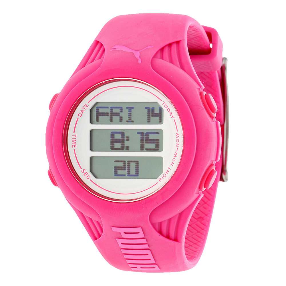 Puma sport watch red