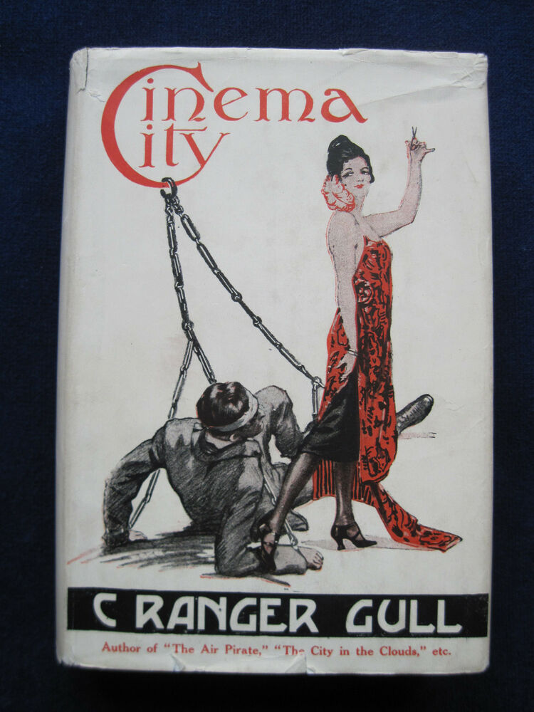 a09264e325 Details about CINEMA CITY by C. RANGER GULL - RARE FANTASY MYSTERY NOVEL  1st American Edition