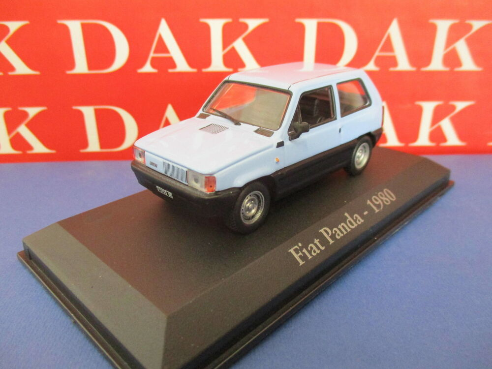 diecast 1 43 modellino auto fiat panda 1980 azzurra ebay. Black Bedroom Furniture Sets. Home Design Ideas