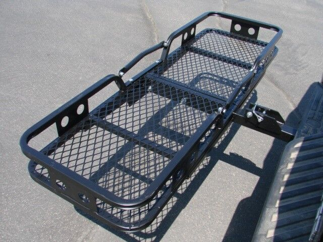 Folding Cargo Carrier Luggage Basket 2 Receiver Hitch