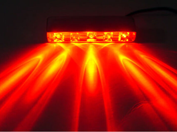 Boat Led Lights 5 Led Stern Deck Navigation 12v Red 5led