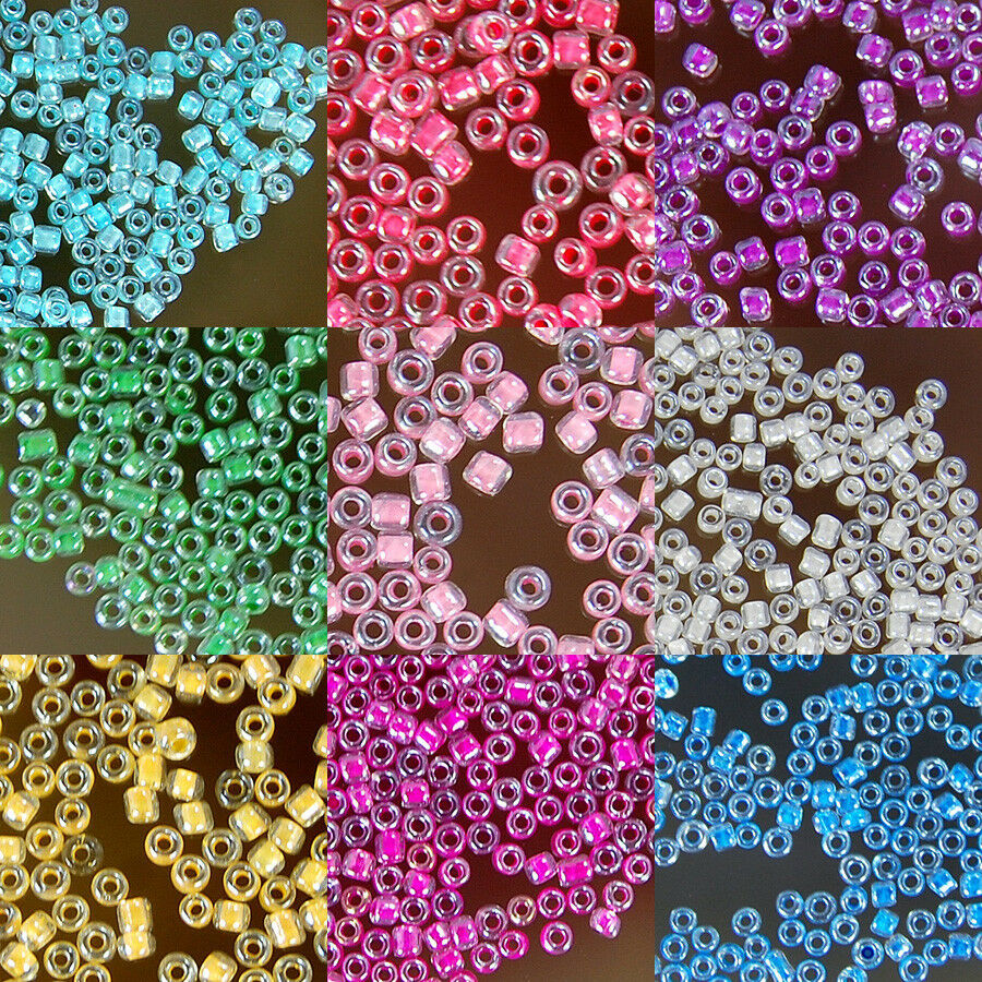 Wholesale 110g15000pcs 12x2mm Czech Glass Seed Spacer