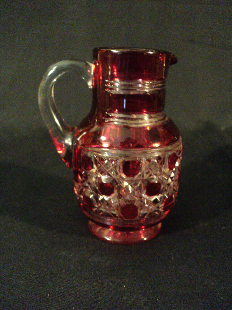 Antique Cut Glass Pitcher And Glasses Www Tapdance Org