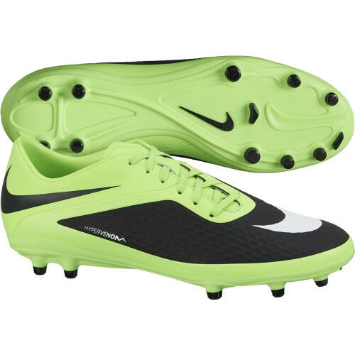 f373f8aa006 Details about Nike HyperVenom FG Phelon 2013 Soccer Shoes New Green   Black  Kids Youth Jr