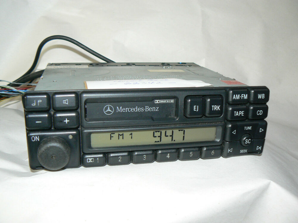 Mercedes cl becker radio stereo w202 w124 w140 cl600 c230 for Mercedes benz stereo