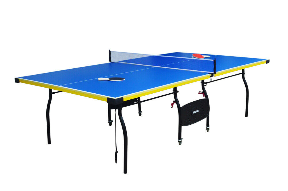 Full size folding table tennis fun ping pong game room - What is the size of a ping pong table ...
