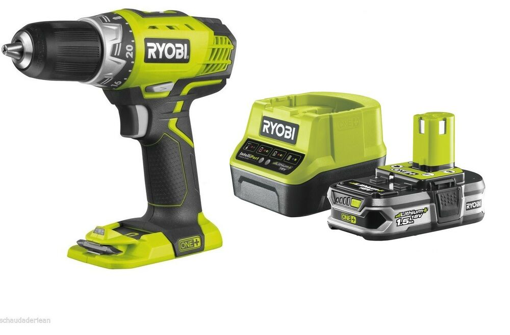 ryobi akkubohrschrauber 18v rcd1802m inkl 1 5 ah akku und ladeger t ebay. Black Bedroom Furniture Sets. Home Design Ideas