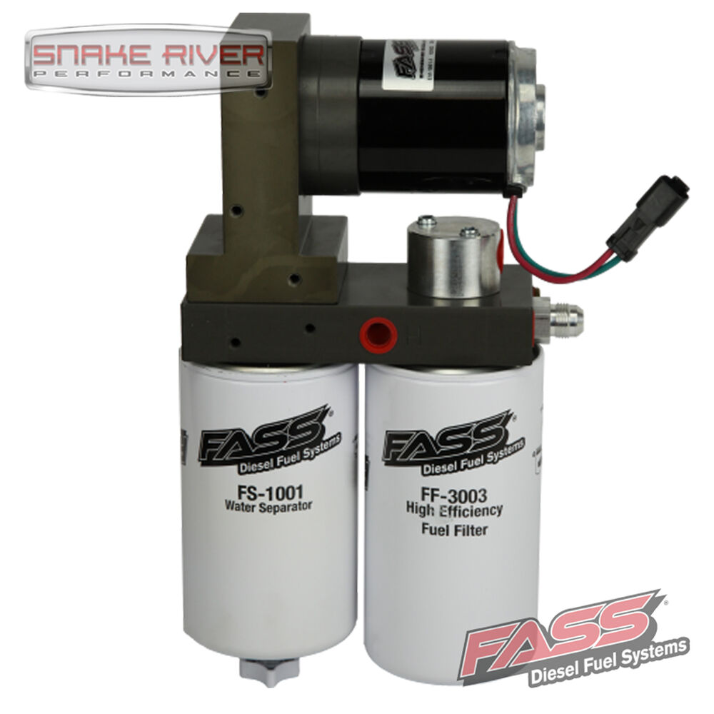FASS TITANIUM FUEL LIFT PUMP FOR 98.5-04 DODGE CUMMINS TURBO DIESEL 5.9L 95 GPH