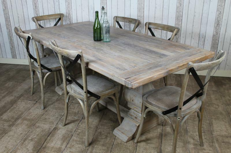 Distressed Farmhouse Beach Style Kitchen Table