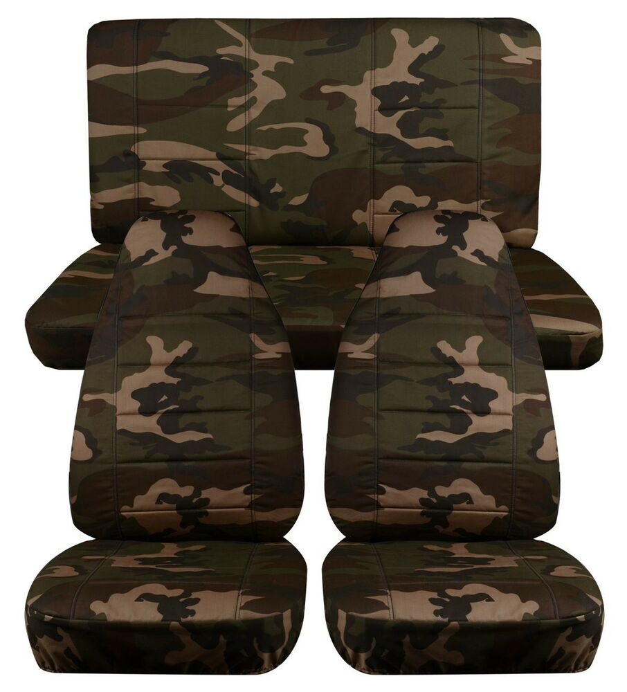 1997 2002 Jeep Wrangler Seat Covers Army Camouflage 31