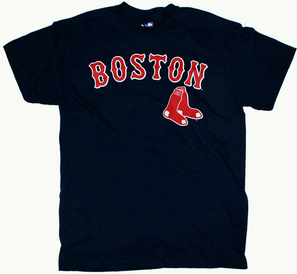 Details about  BOSTON RED SOX NUMBER #1 DAD TEE SHIRT MLB