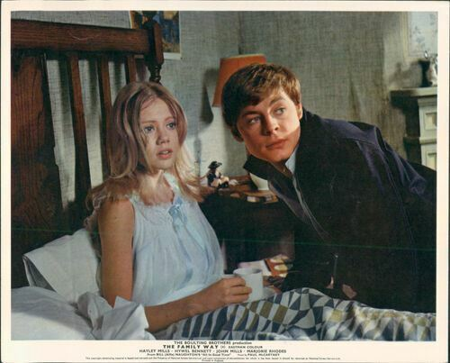 the family way hayley mills in bed in nightdress with