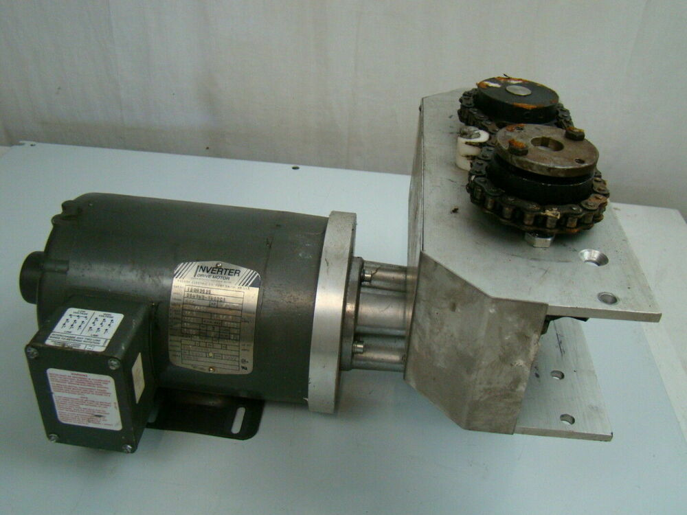 Baldor 1 2 hp motor idnm3538 w benzlers 48 1 gearbox bs40 for 100 hp electric motor price
