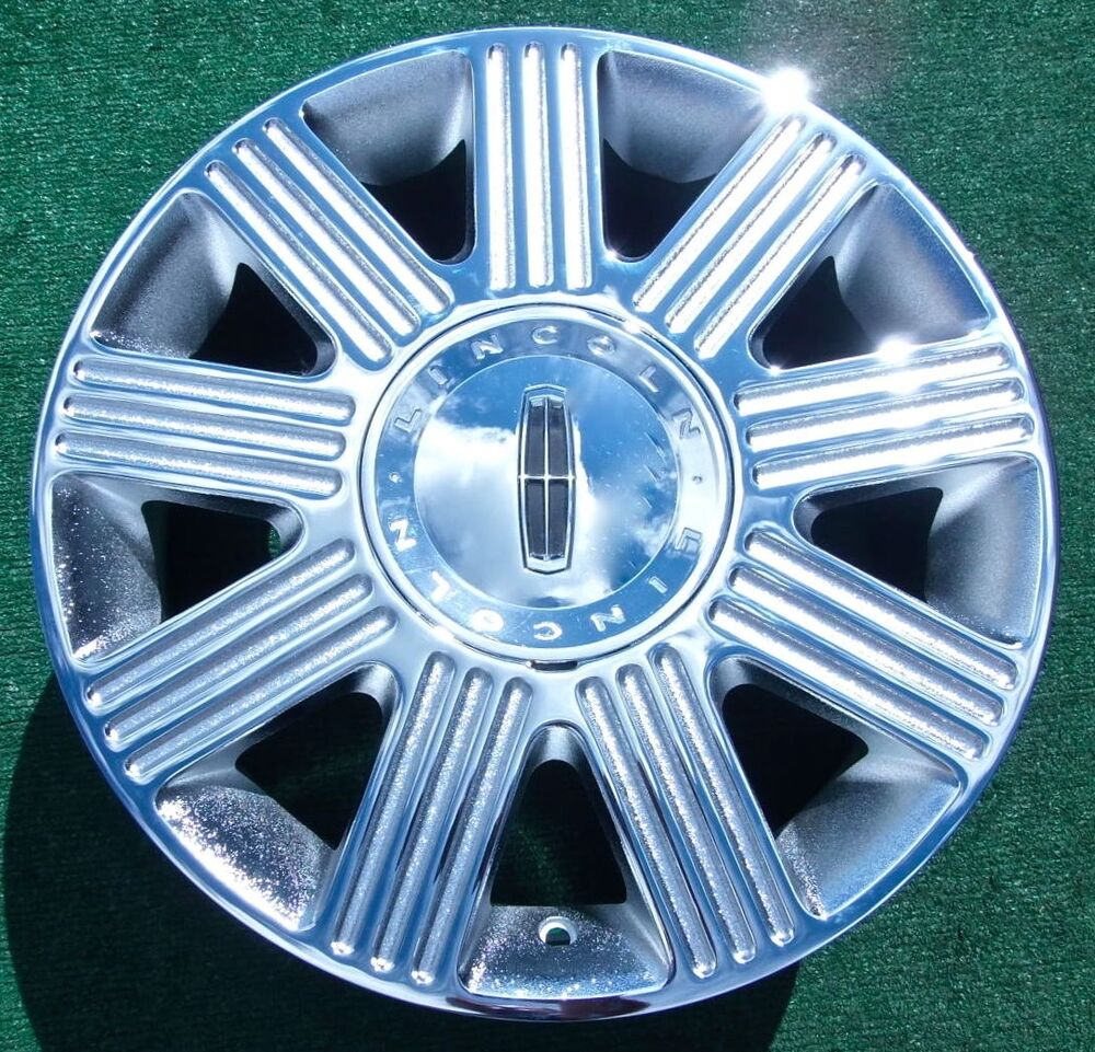 New 2003 2004 2005 Chrome Lincoln Town Car Towncar Oem Factory Style Wheel 3502 Ebay