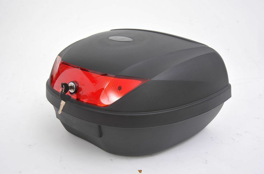 New 50l motorcycle motorbike scooter moped helmet storage for Best helmet for motor scooter