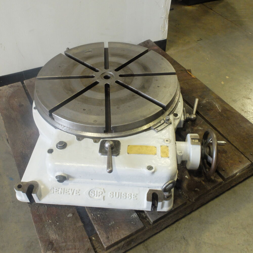 Jig Bore Rotary Table : Quot sip rotary table model pd ebay
