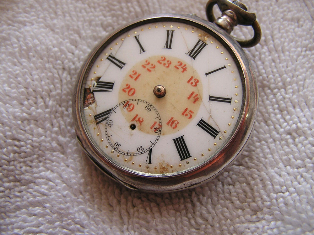 how to find serial number on waltham pocket watch