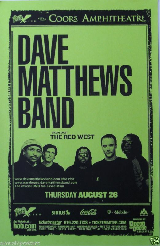 an introduction to the history of dave matthews band Confessionals of a former dave matthews band super fan every once in a while i'm in a walgreens, an elevator or a dentist's office and a dave matthews band song starts playing.