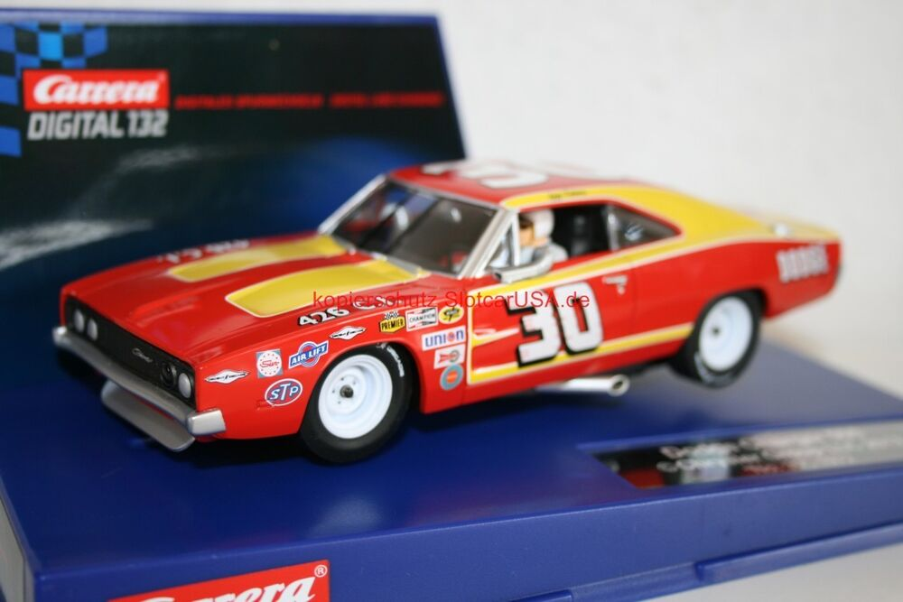 carrera digital 132 30604 dodge charger 500 1969 nr 22 iggy katona usa modell ebay. Black Bedroom Furniture Sets. Home Design Ideas