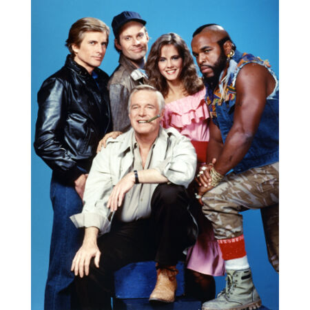 img-A-Team, The [Cast] (18669) 8x10 Photo