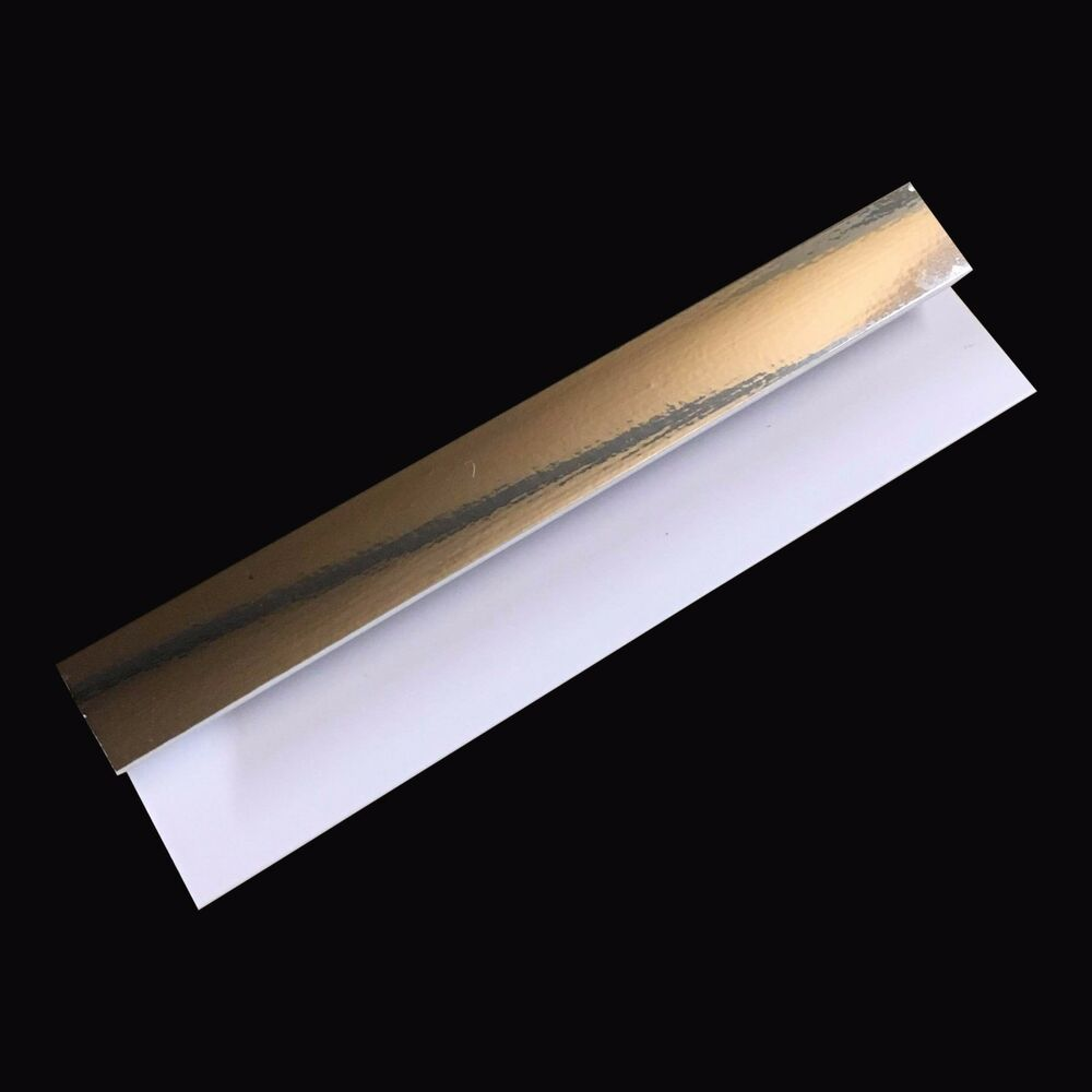 silver 8mm end cap trim for bathroom panels shower wet wall pvc
