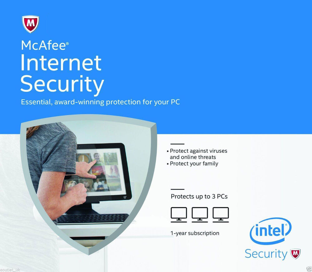 Mcafee internet security 1 user 2017