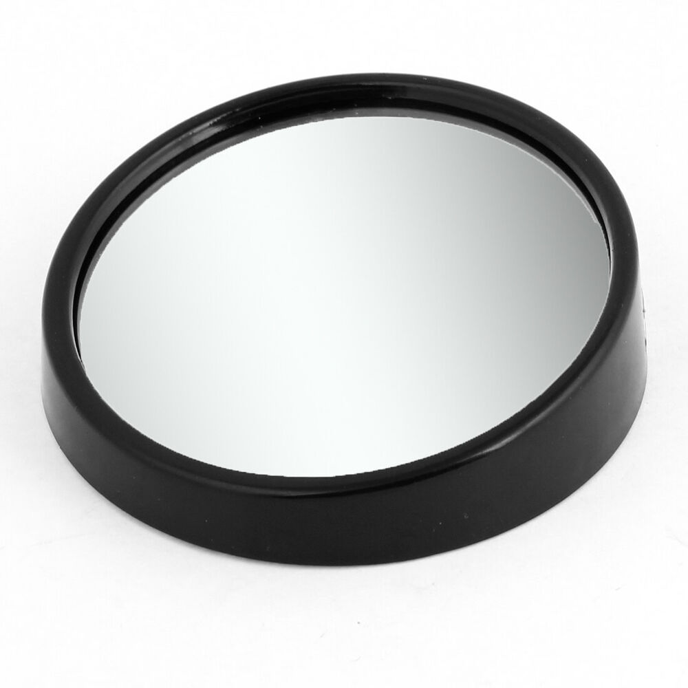 car safety 3 stick on round convex blind spot mirror. Black Bedroom Furniture Sets. Home Design Ideas