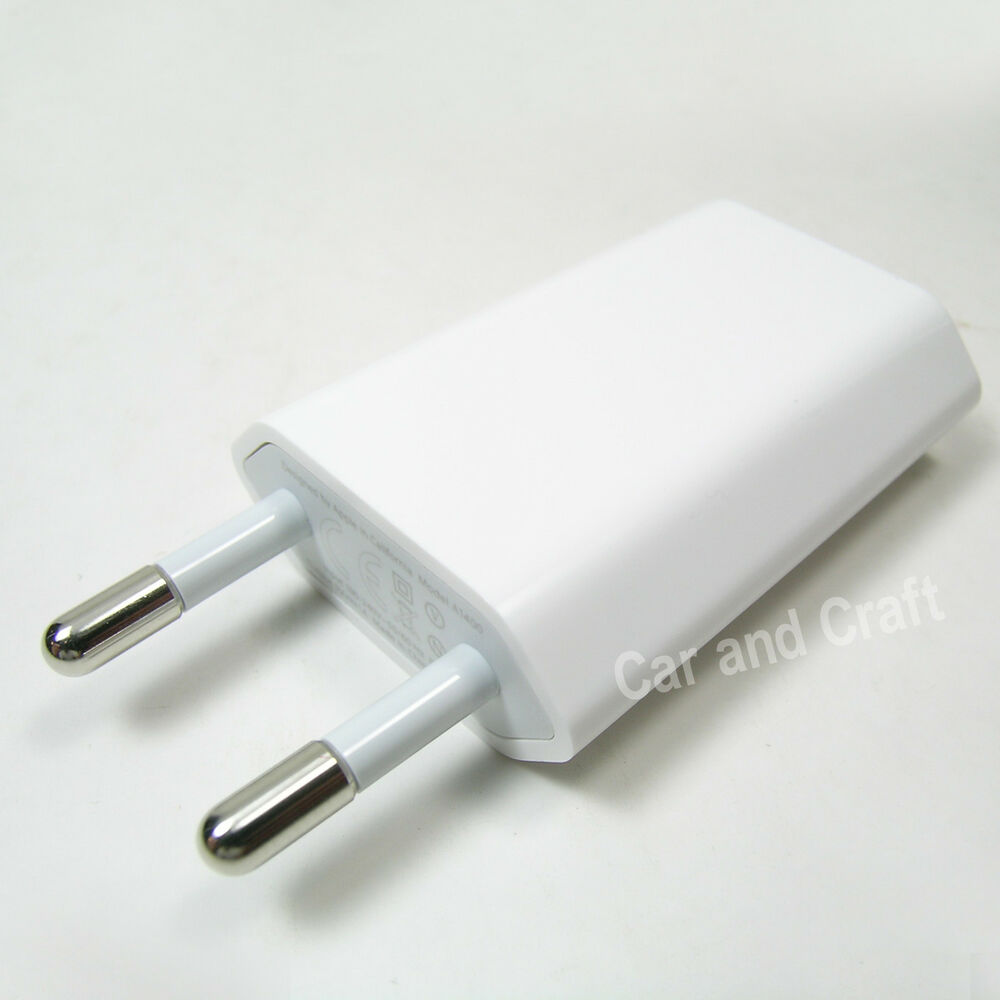 genuine apple ipod ipad iphone 5 5c 5s 4 4s eu charger. Black Bedroom Furniture Sets. Home Design Ideas