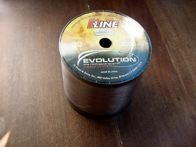 New p line evolution copolymer fishing line 30lb 3000yds for Pline fishing line