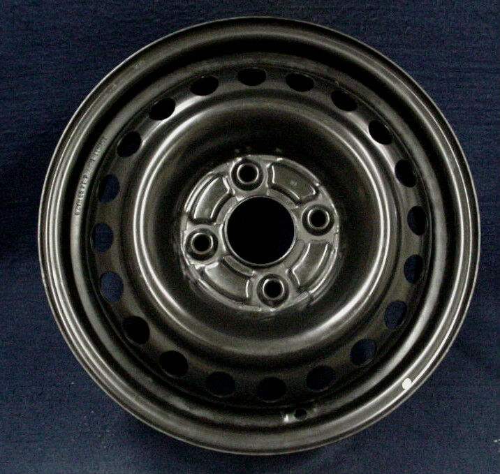 Honda Accord 98 02 15 Quot Black Steel Wheel 1 Oem Ebay
