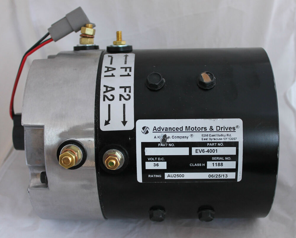 Ezgo Pds Dcs Advanced Motors 36 48 Volt Golf Cart Motor