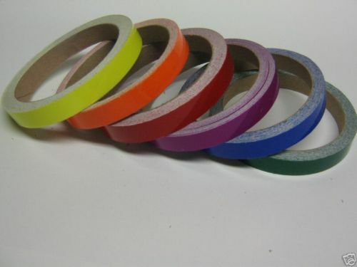 Any 2 Colors Of Colored Plastic Vinyl Tape 1 4 Quot X 50 Feet