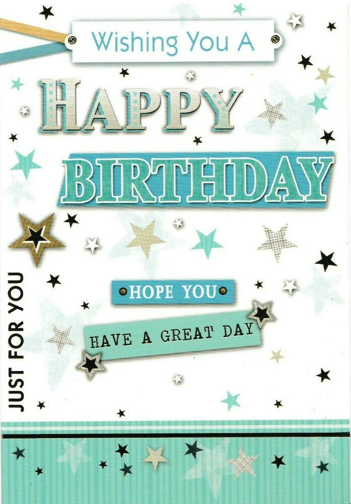 male open happy birthday card general birthday greeting ...Happy Birthday For Men Wishes
