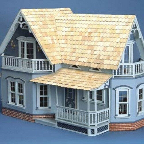 New Magnolia Dollhouse Kit Wood Doll House Farmhouse 2