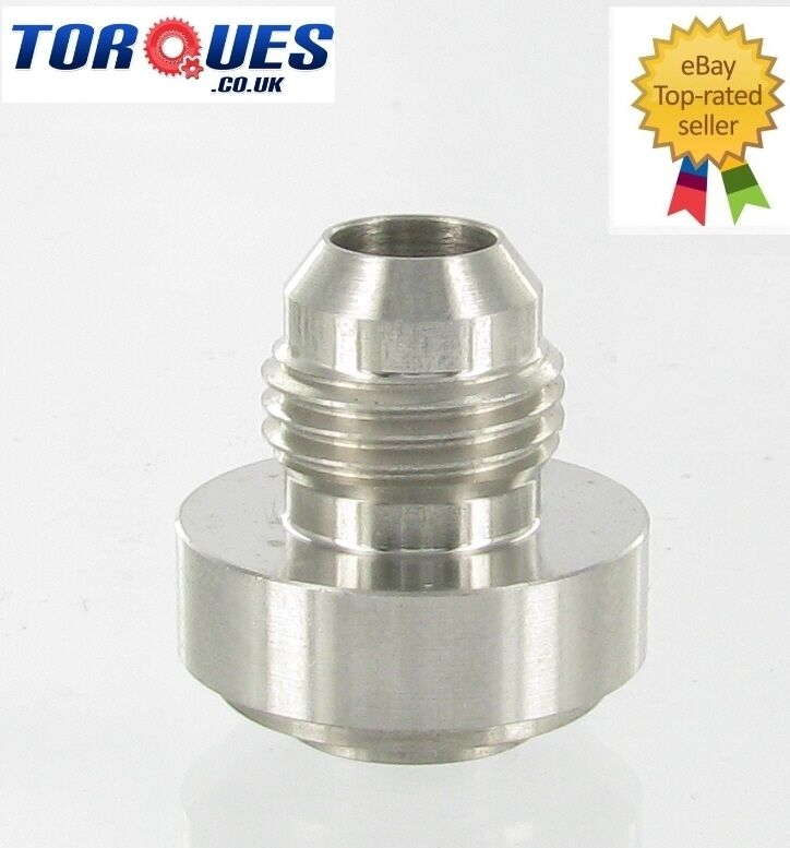 An male stainless steel weld on fitting bung ebay