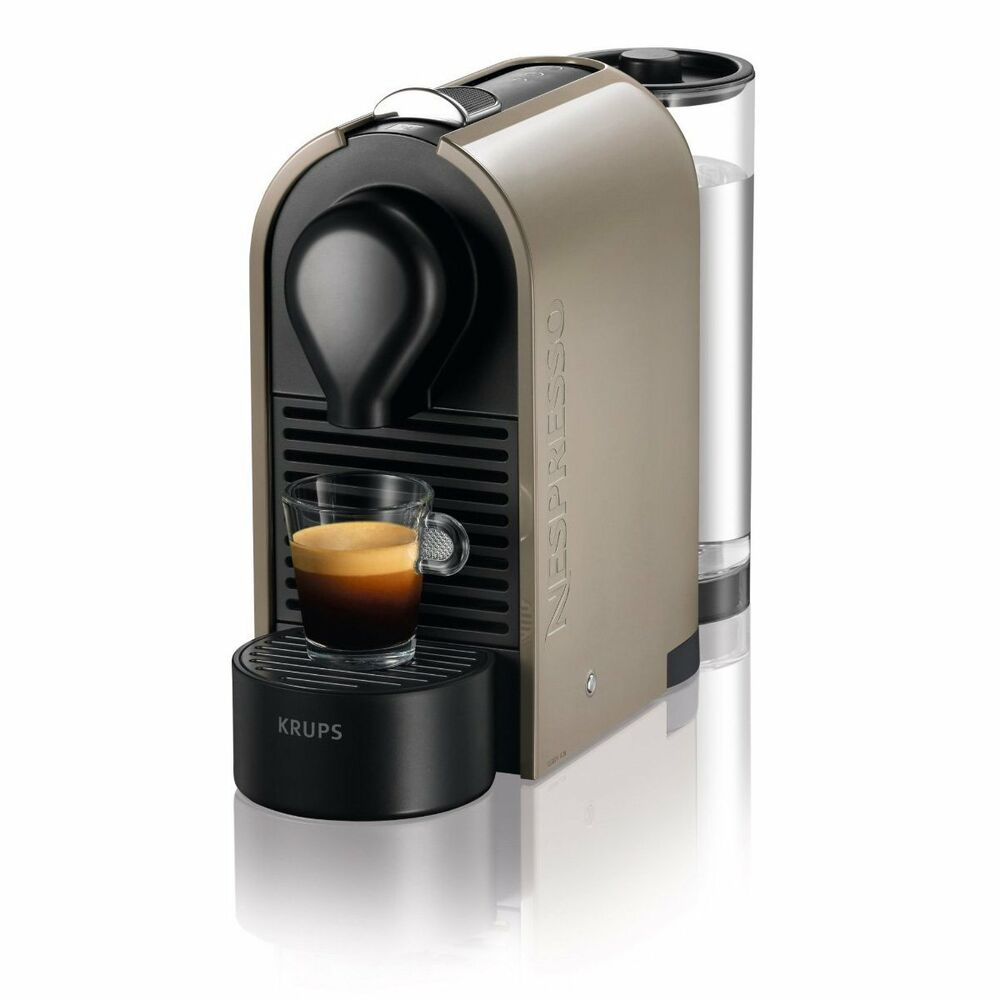 krups nespresso xn250a coffee machine maker new ebay. Black Bedroom Furniture Sets. Home Design Ideas