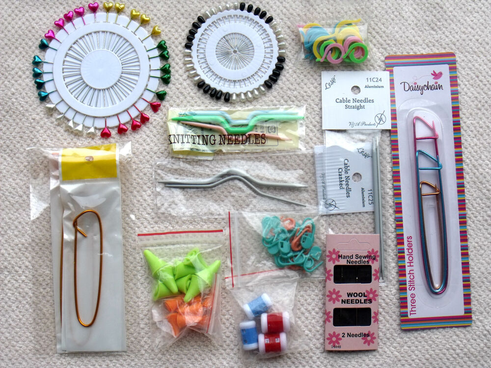 Knitting Accessories - Row Counters, Locking Stitch ...