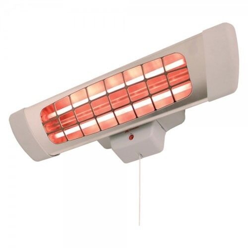 8kw infrared infra red electric wall mounted bathroom radiant heater