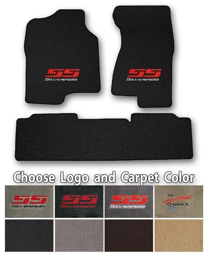 Chevy Silverado 3pc Classic Loop Carpet Floor Mats-Choice
