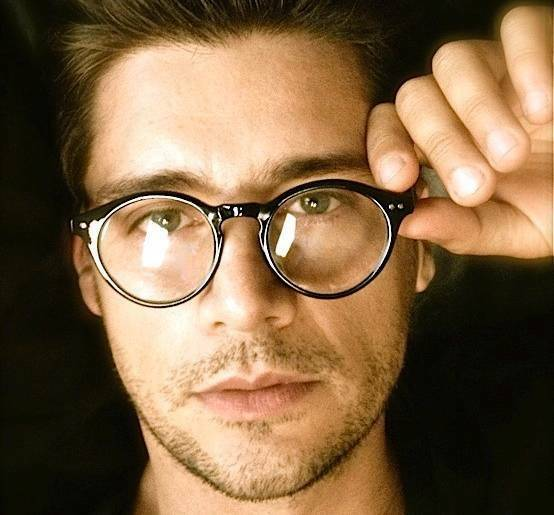 50s Vintage Retro Oval Round Circle Frame Clear Lens ...