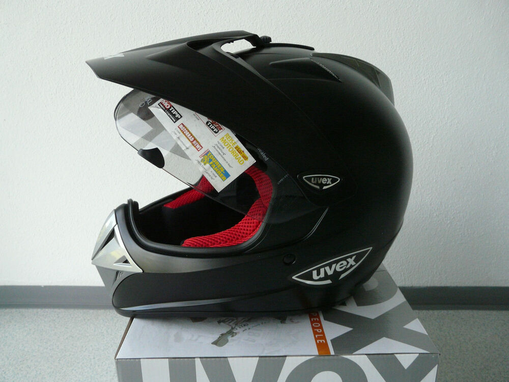 uvex enduro 3 in 1 enduro integralhelm schwarz matt ebay. Black Bedroom Furniture Sets. Home Design Ideas