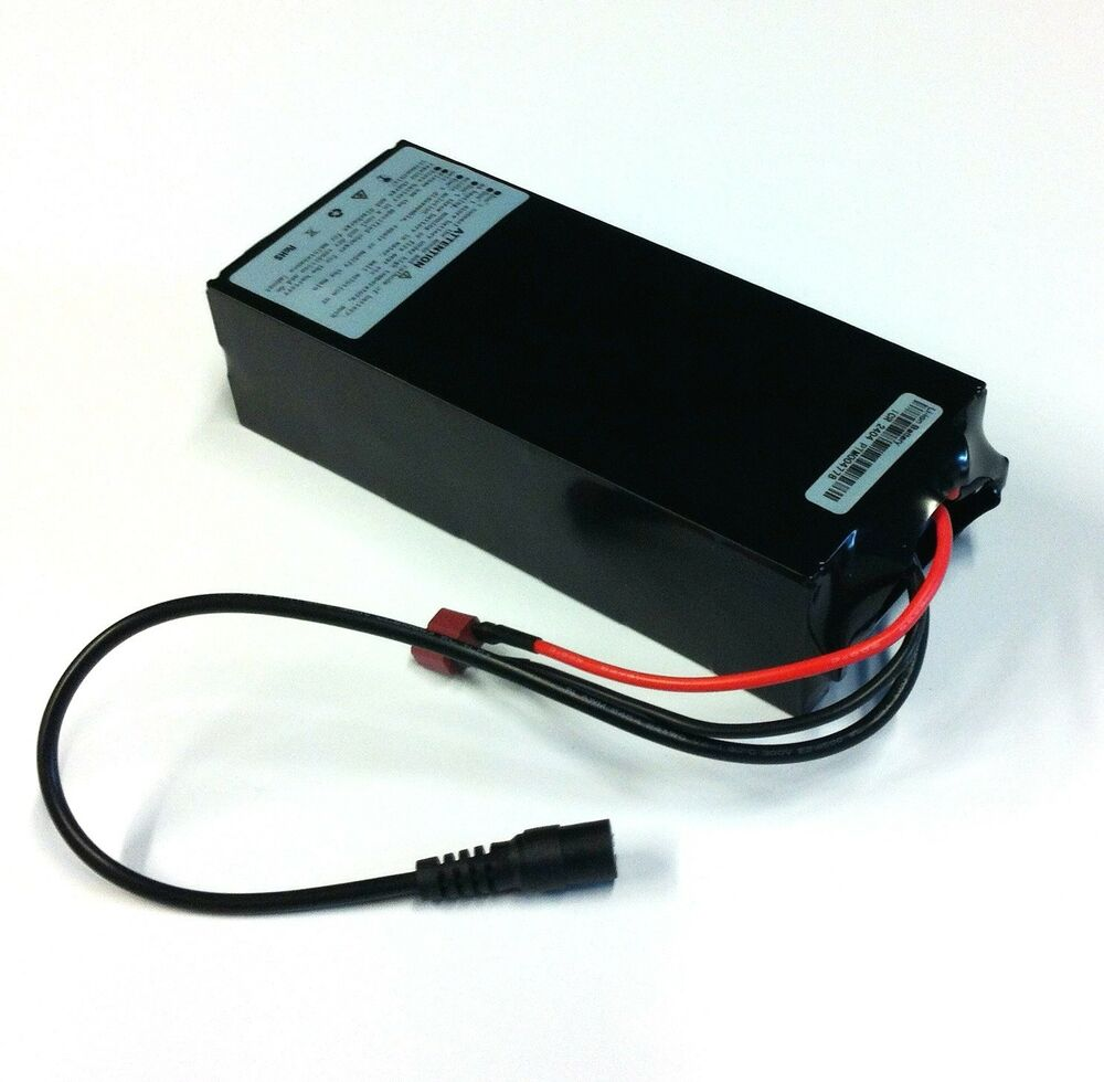 rechargable lithium ion battery module 24 volt 6 6ah ebay. Black Bedroom Furniture Sets. Home Design Ideas