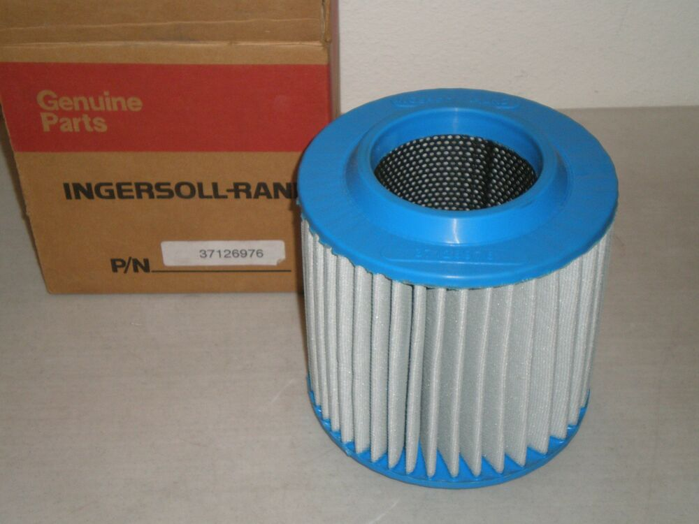new genuine ingersoll rand compressor 37126976 air filter element free shipping ebay