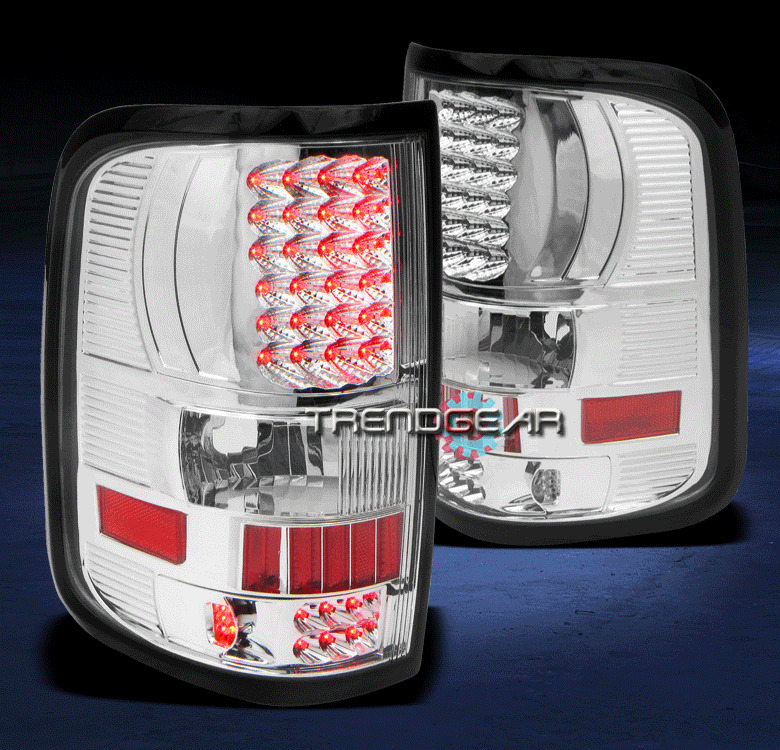 2004 2008 ford f150 truck styleside led tail light lamp clear fx2 fx4. Black Bedroom Furniture Sets. Home Design Ideas