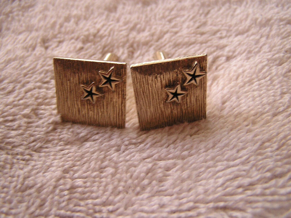Vintage swank cufflinks with stars ebay for What is swank jewelry